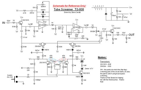 ibanez ts808 screamer schematic get free image