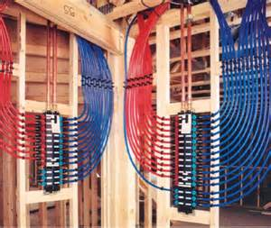 Pex Plumbing Manifold Systems by How Safe Is Pex Tubing Greenbuildingadvisor