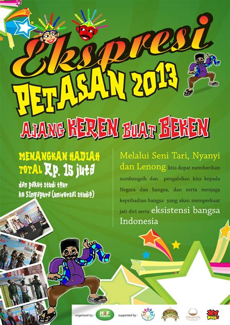 design poster murah sribu desain poster design poster event quot ekspresi petasan