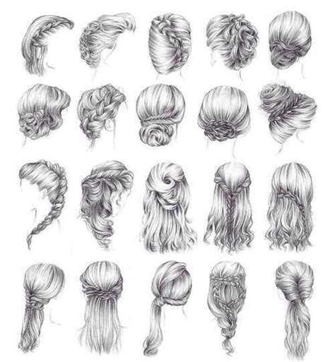 beautiful hairstyles drawing hairstyles hairstyles sketch fashion fashion