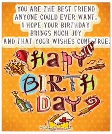 heartfelt birthday wishes and images for your best friend