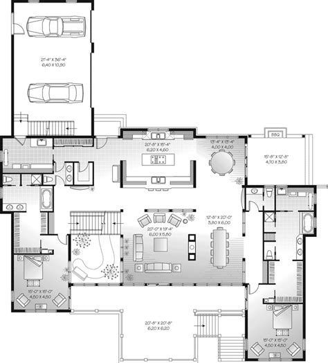 waterfront floor plans marino manor contemporary plan 032s 0003 house plans and