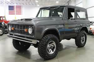 1969 Ford Bronco Charcoal Gray 1969 Ford Bronco For Sale Mcg Marketplace