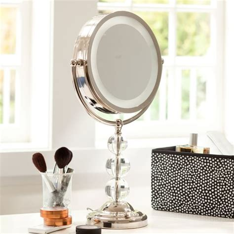 light up cosmetic mirror light it up beauty mirror pbteen
