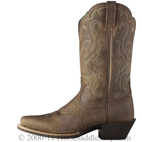 ariat square toe boots womens ariat 039 s legend boots square toe distressed brown