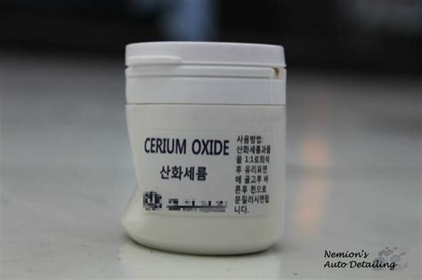 Ceo2 98 Cerium Oxide By Bisakimia 차량유리 유막제거 필요성과 유막제거 방법안내 다나와 dpg는 내맘을 디피지