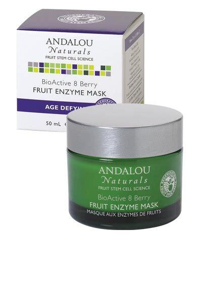 fruit enzyme mask andalou naturals bioactive 8 berry fruit enzyme mask 1 7 oz