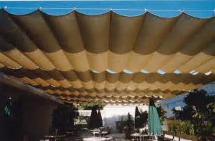Retractable Fabric Awning Slide On Wire The Awning Company