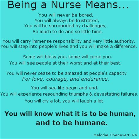 will u be my meaning pediatric nursing on quot being a means you
