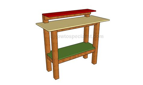 stand up desk plans stand up desk plans howtospecialist how to build step