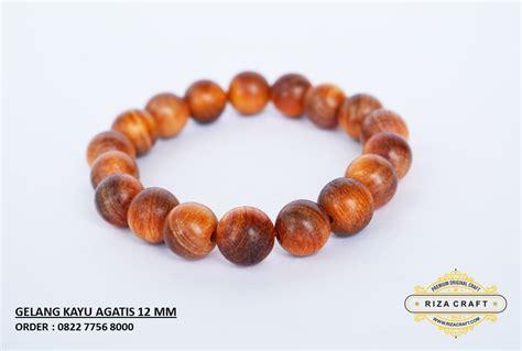 Riza Craft Stigi Laut Tasbih Kayu gelang kayu agatis merah 10 mm 171 jual gelang tasbih batu