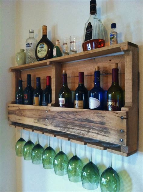 Pallet Wine Rack For Sale by The Great Lakes Wine Rack Reclaimed Wood Rustic Wine Storage