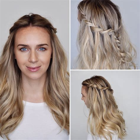 Hairstyles To Do With Hair by How To Do Waterfall Hairstyle Hairstyles
