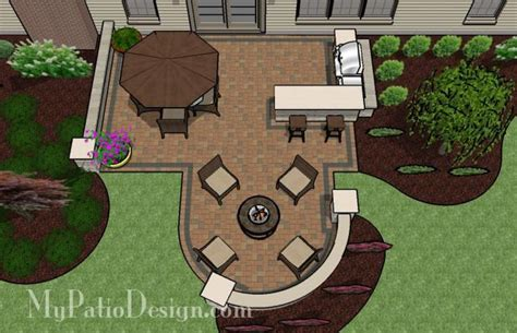 patio layouts and designs 25 best ideas about backyard patio designs on