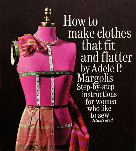 the collector how to make clothes that fit and flatter