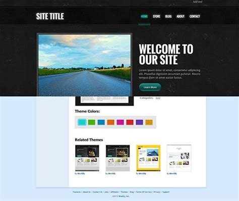 free weebly themes and templates 20 gorgeous free weebly templates utemplates