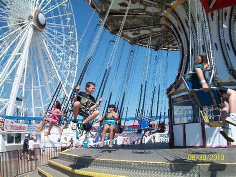 wonderland swing ride gillian s wonderland pier picture of gillian s