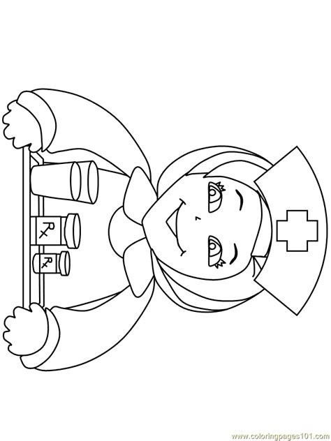 coloring pages nurse5 peoples gt nurses free printable