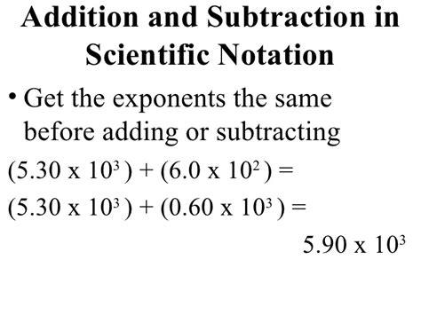 scientific number