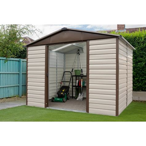 Anchor Kit For Metal Shed by 9 4 Quot X 12 Shiplap Apex Metal Shed Free Anchor Kit 2 85m X 3 67m Shedsfirst
