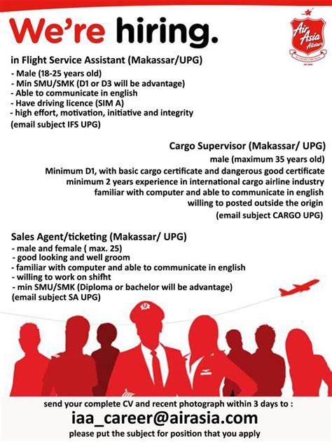 airasia rekrutmen airasia indonesia forum pramugari