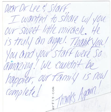 thank you letter to your fertility doctor thank you letter to ivf doctor 28 images thank you