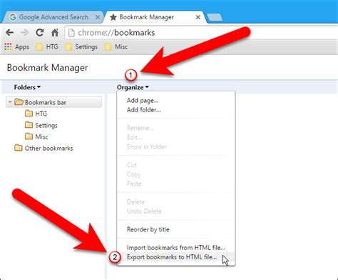 chrome export bookmarks how to easily back up and migrate your browser bookmarks