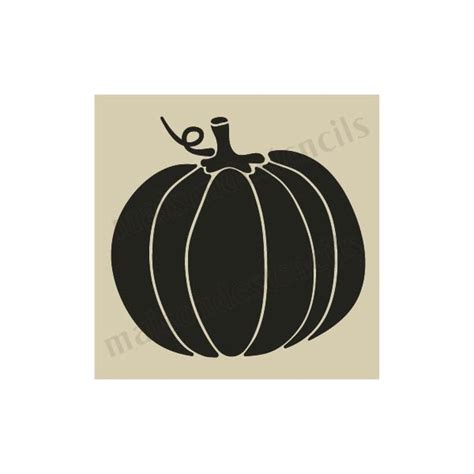 small pumpkin template pumpkin no 4 small 5 x 5 stencil