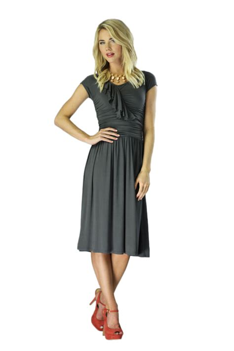 Modest Dresses by Modest Dresses In Grey