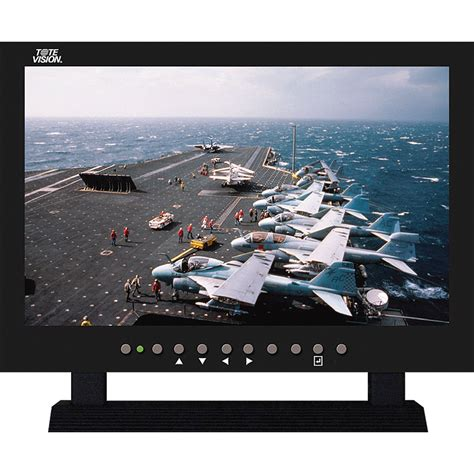 Monitor Lcd Vision 15 used tote vision lcd 1560hd color monitor 15 6 quot
