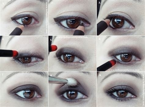Tutorial Eye Liner indian vanity makeup tutorials