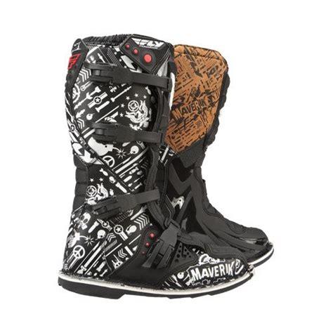 mx racing boots fly racing maverik mx boots revzilla