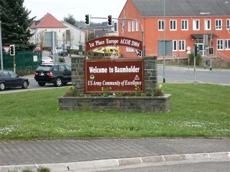 baumholder germany housing smith barracks at baumholder