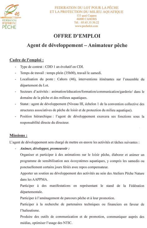 Lettre De Motivation De Guide Touristique Devenez Moniteur Guide De P 234 Che Technicien De Rivi 232 Re Aquaculteur Offre D Emploi Moniteur