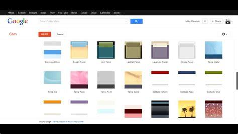 website tutorial google sites creating a google site sites tutorial 1 of 5 youtube