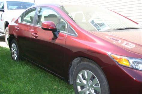 06 Honda Civic 4 Door by Sell Used 2012 Honda Civic Lx Sedan 4 Door 1 8l 06 07 08 09 10 11 13 In Oberlin Ohio United States