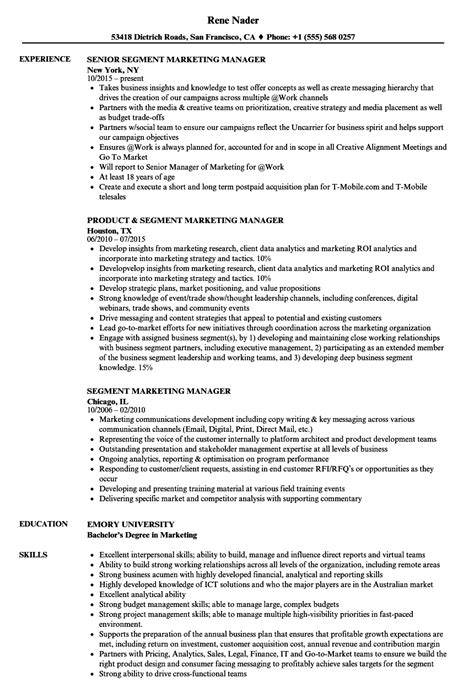 marketing director resume best resumes