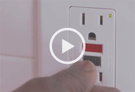 learn how to safely install a gfci outlet at the home depot