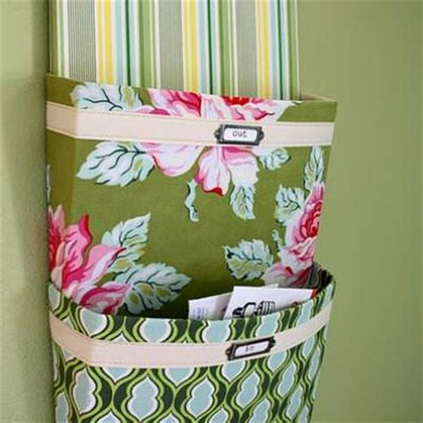 pattern for fabric wall organizer how to make a fabric mail organizer organize tip junkie