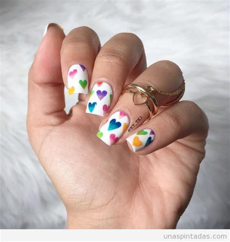 imagenes de uñas decoradas con corazones 2015 gif animado dibujar coraz 243 n en las u 241 as para san valent 237 n