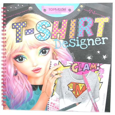 TOPModel T Shirt Designer Colouring Book NEW   eBay