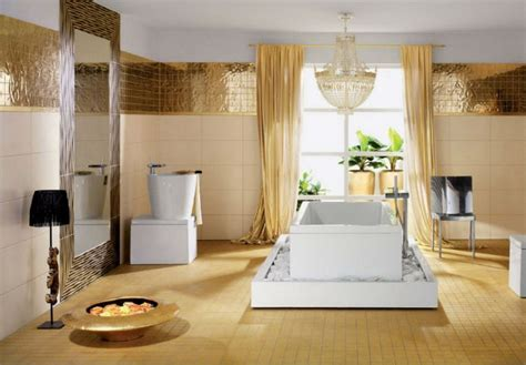 gold bathroom ideas trends 2015 golden bathrooms inspiration and ideas from