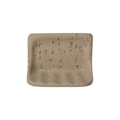 Daltile Bathroom Accessories Daltile Ba725 Soap Dish Resin Faux Bath Accessory Travertine Color