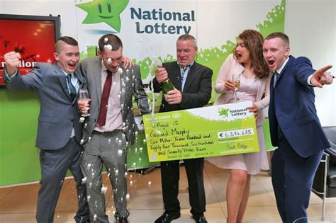 Sweepstake Lotto - a vantastic jackpot lotto winner plans to buy a new transit van with whopping 6 3