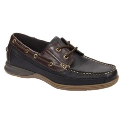 boat shoes kmart thom mcan men s mast boat shoe in black stay stylish at kmart