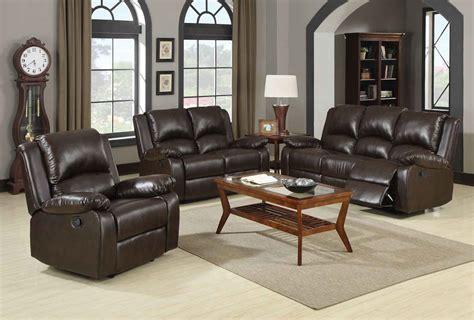 Living Room Furniture Boston | coaster boston motion living room set brown 600971