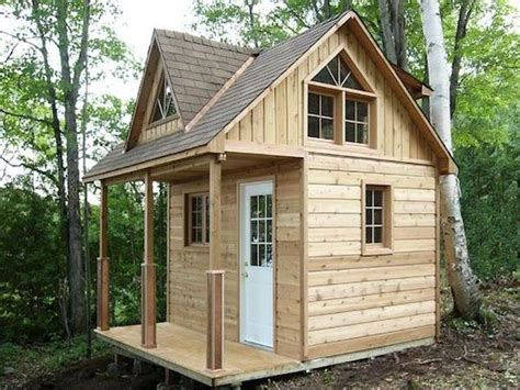 Small House Plans Small Cabin Plans With Loft Kits Micro 8x12 Tiny House