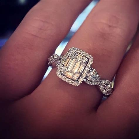 Emerald Cut Engagement Rings by Emerald Cut Engagement Ring Engagement Rings
