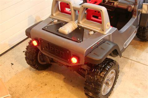 Jeep Hurricane Power Wheels Modifications Modified Power Wheels Jeep Hurricane Lights Needed