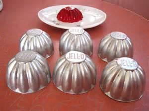 Kitsch o the day vintage inidual jell o jello molds